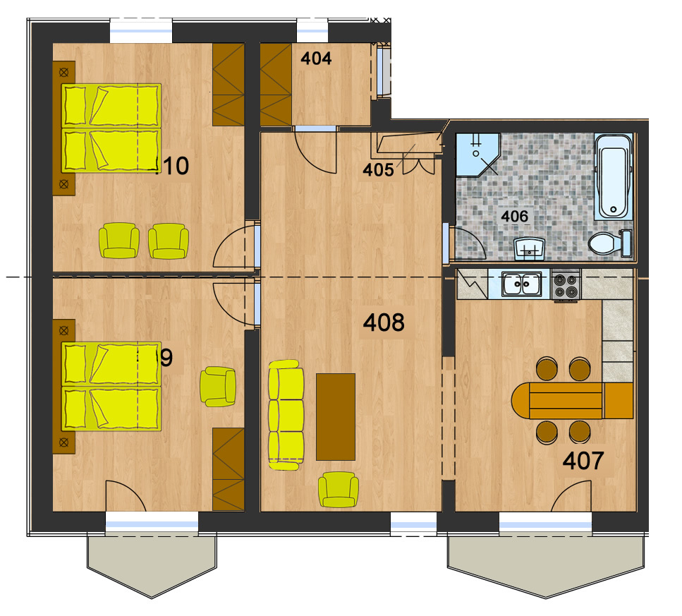 Byt 10 (3-izbový)